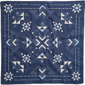 United By Blue Quilt Pattern Bandana, blå